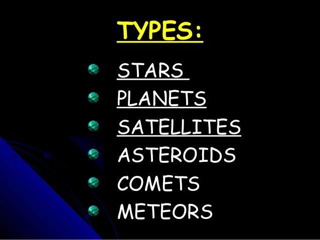 Celestial bodies Slide 2
