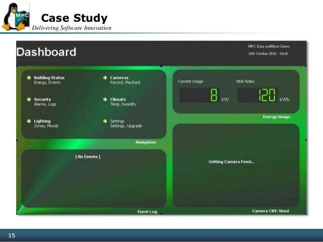Delivering Software Innovation 15 Case Study 15