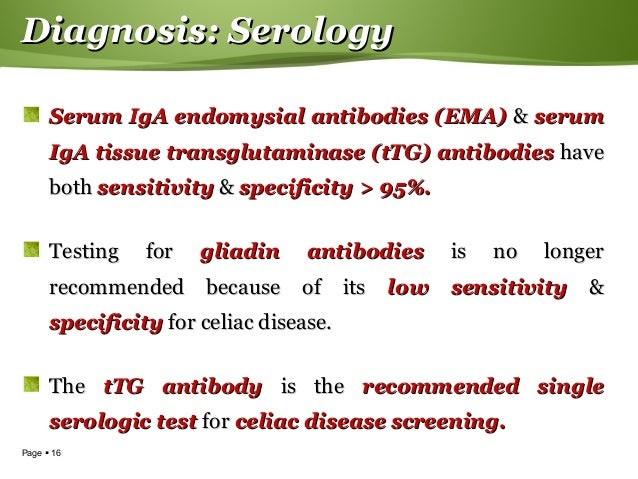 Serological Disease Screening
