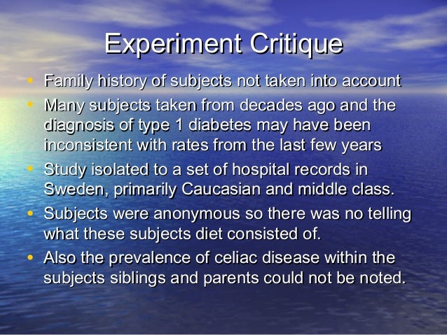 Nutritional Science Research: Celiac Disease & Risk of ...