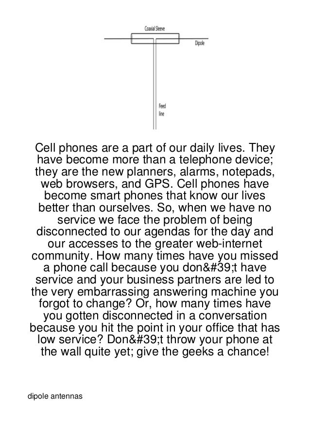 Cell phones are a part of our daily lives. They have become more than a telephone device; they are the new planners, alarm...