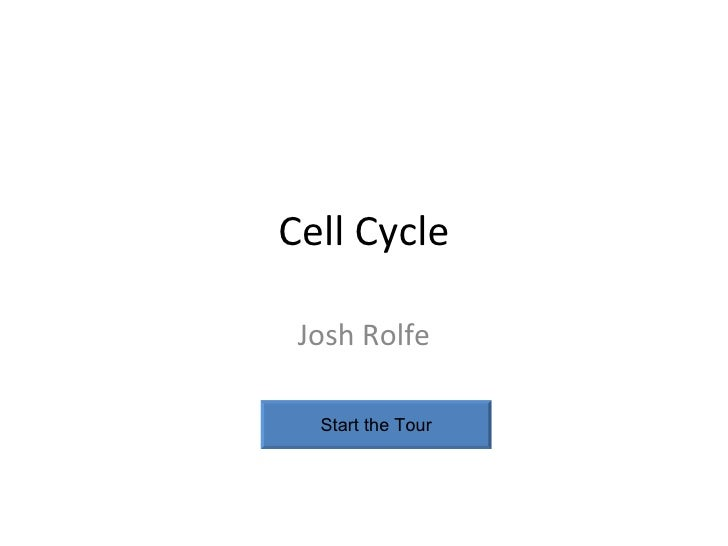 Cell Cycle Josh Rolfe Start the Tour