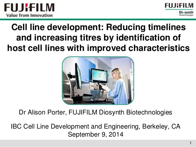 Cell line development: Reducing timelines and increasing titres by identification of host cell lines with improved charact...