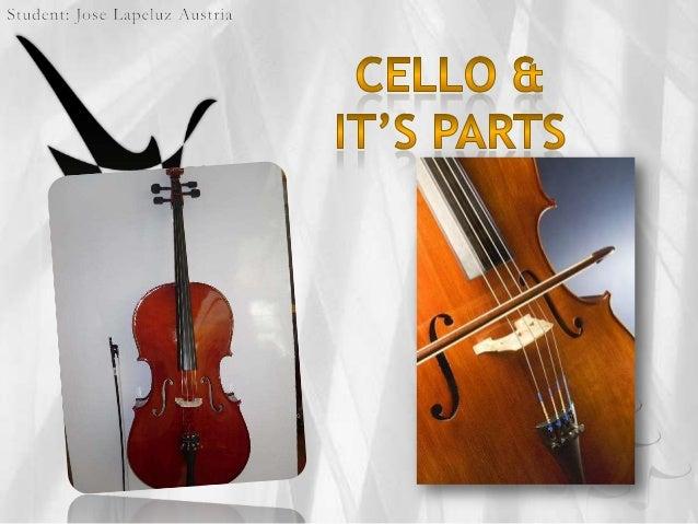 Cello & its parts