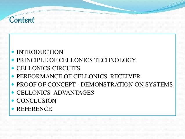cellonics technology seminar ppt