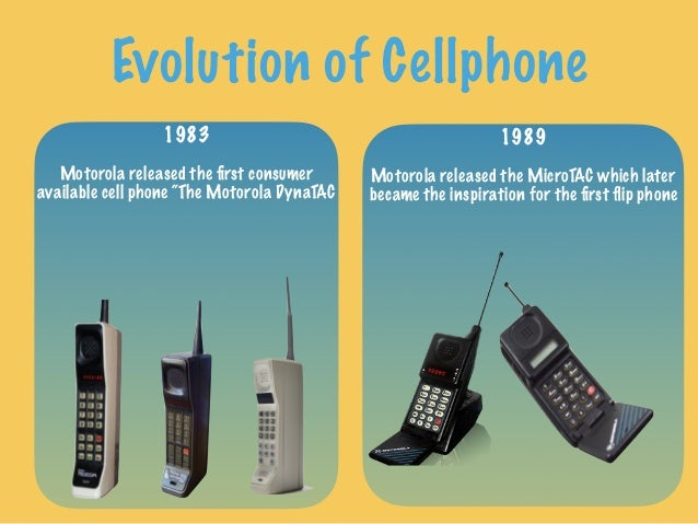 Evolution of Cell Phone and Tedrad Model