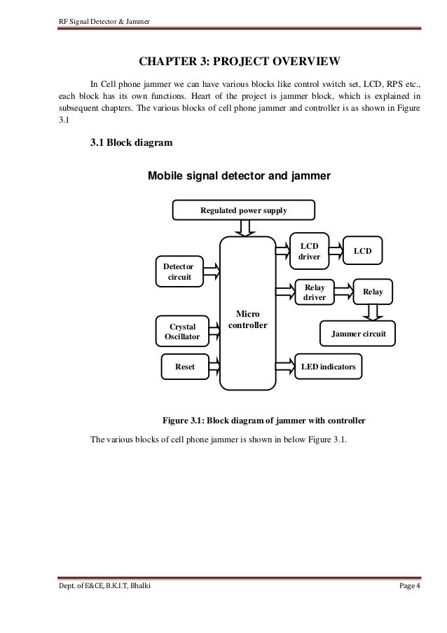 Cell phone jammer diagram | Limiting data usage