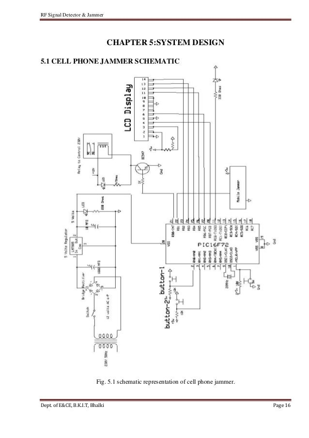 radio frequency sniffer circuit diagram