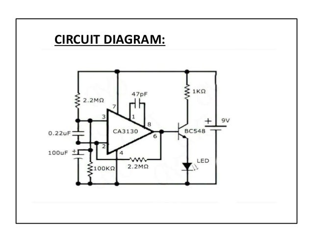 simple cell phone detector circuit diagram