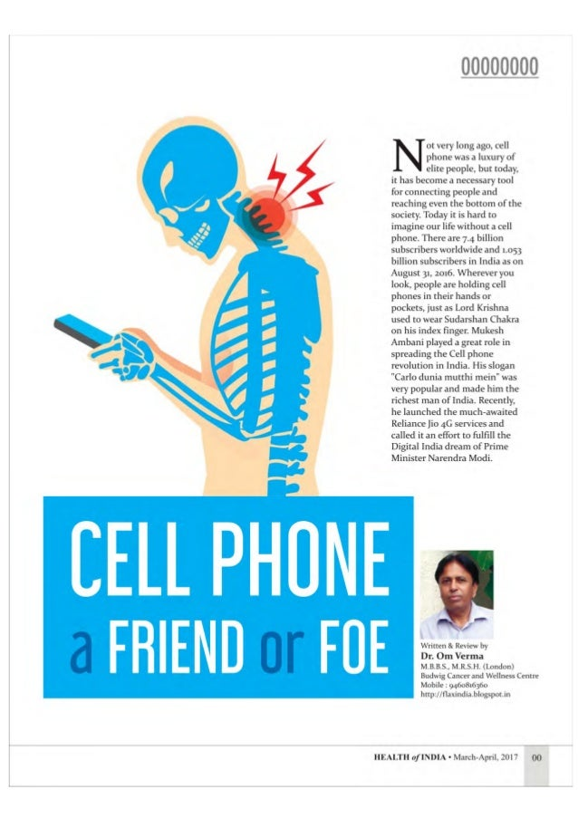 Cell phone - a friend or foe Slide 2