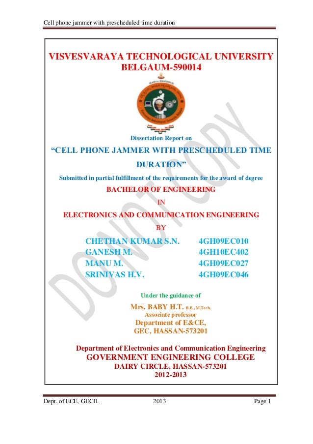 Cell phone jammer pdf