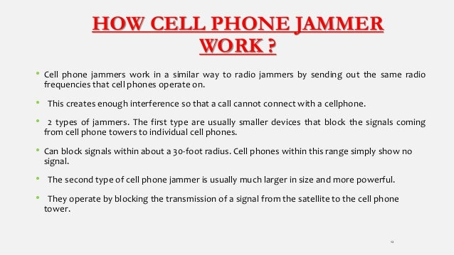 Call jammer - out jammer