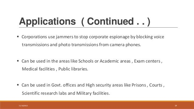 Cell jammers - Are Cell Phone Jammers Legal in Schools