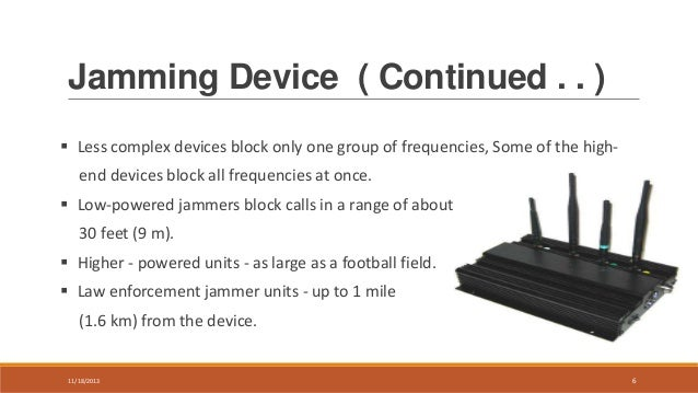 Cell phone jammers enforcement | Gross sales Tips - Jammer-buy Forum