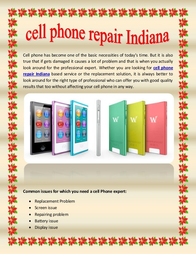 Cell phone has become one of the basic necessities of today's time. But it is also true that if gets damaged it causes a l...