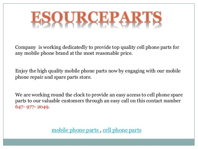 cell phone parts store