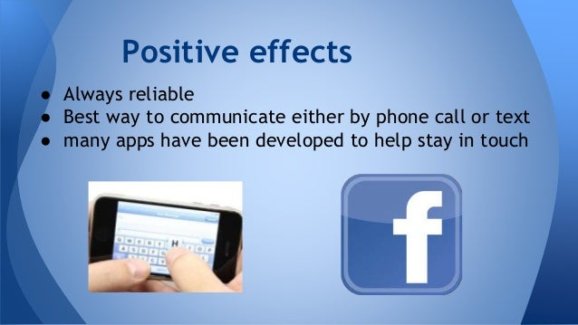 positive effects of cell phones