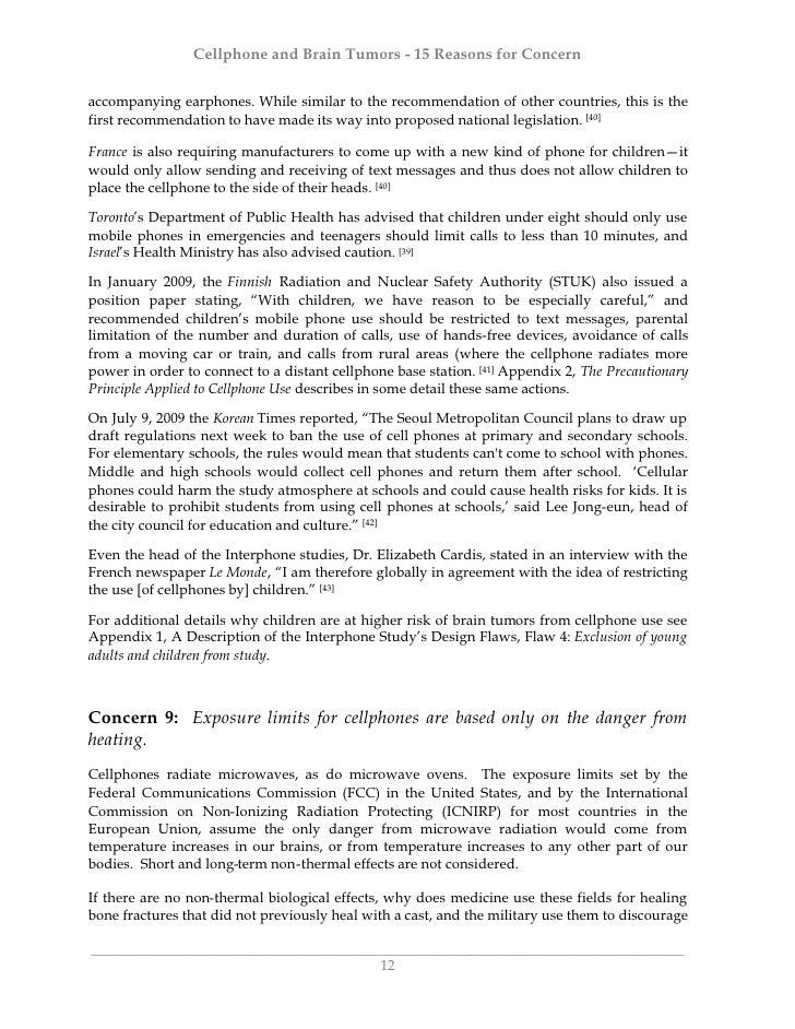 brain cancer term paper