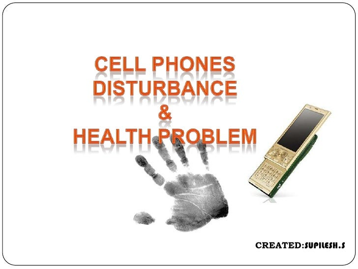 Mobile phone radiation and health