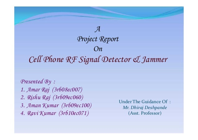 Phone jammer train tweet - wireless phone jammer detector