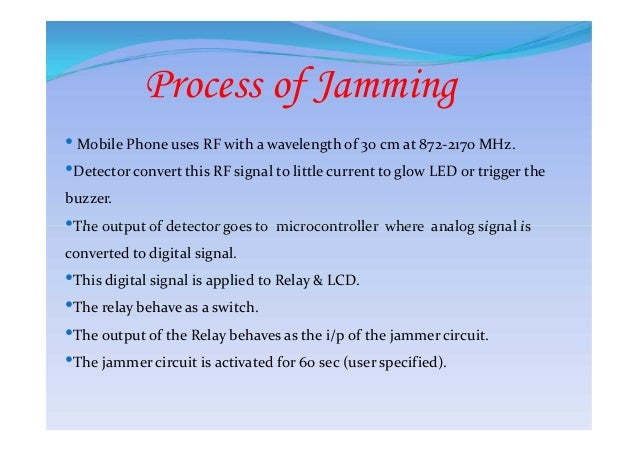 Alternatives to cell phone jamming - cell phone jammer detector app