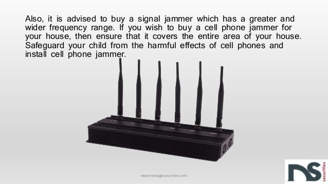 Cell phone signal jammer or blocker