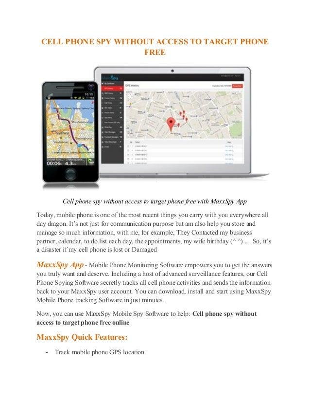mobile spy website free