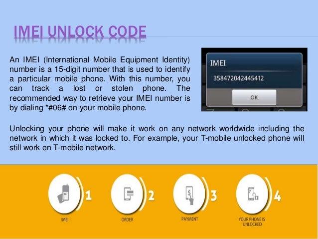 Cell phone unlock codes
