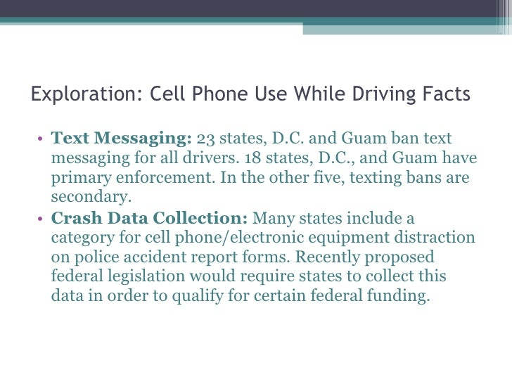 use of cell phone while driving Each country and us state has distinct rules governing the use of a mobile phone while driving what are the rules where you're traveling keep this list for your next trip.