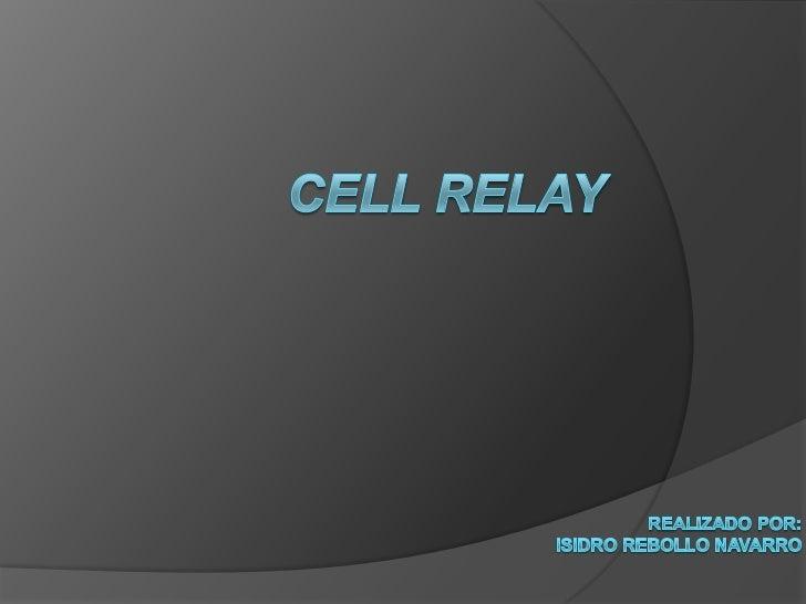Cellrelay<br />Realizado Por:<br />Isidro Rebollo Navarro<br />