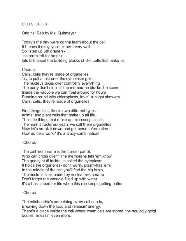 Cells songs-and-lyrics