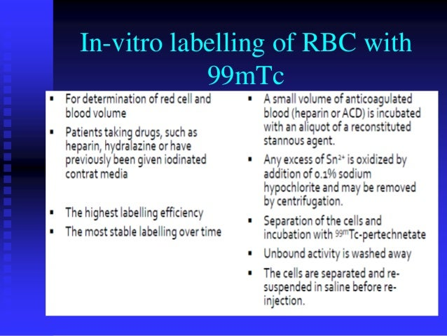 Cells Labelling & Non Imaging Procedures