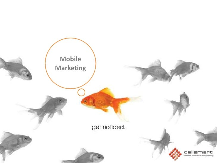 Mobile Marketing<br />