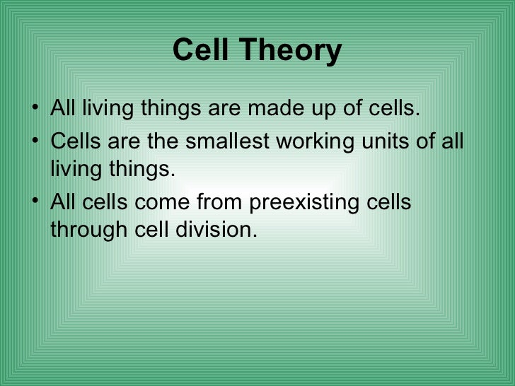 Cell structure function Slide 2