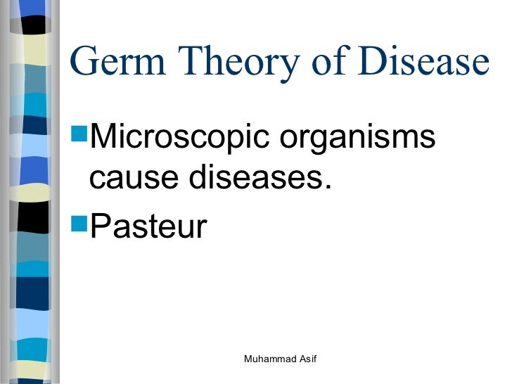 the germ theory of disease With the advent of the germ theory of disease, centuries of interest in what is now called the body-mind connection fell into disrepute.