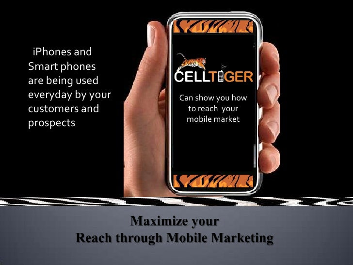 iPhones and Smart phones are being used everyday by your customers and prospects<br />Can show you how to reach  your mobi...