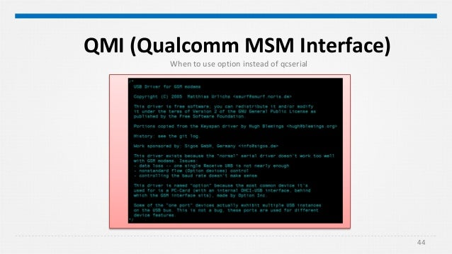 Qmi Protocol Error 3 Internal