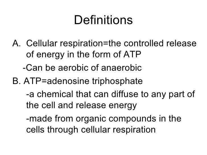 Atp Definition Biology
