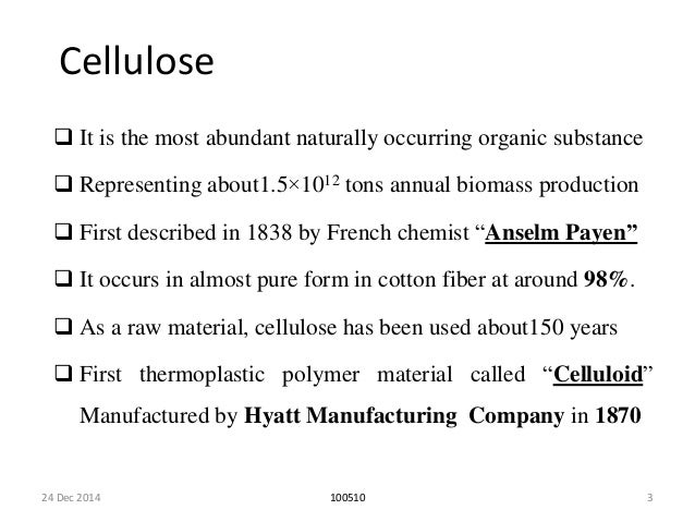 Cellulose And It U0026 39 S Properties