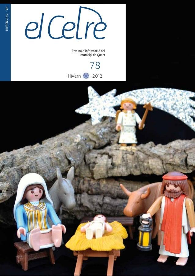 TARDOR 2012 _77  Revista d'informació del  municipi de Quart  HIVERN 2012 _ 78  Revista d'informació del  municipi de Quar...