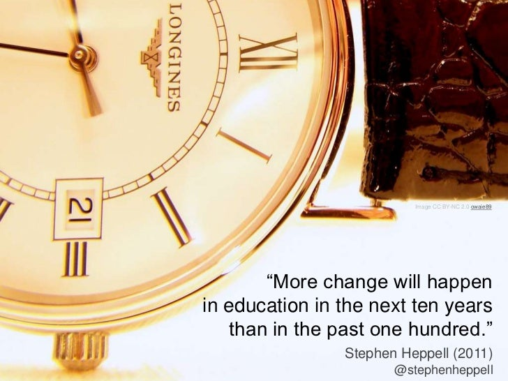 Exploring Open Education; Re-imagining Higher Education Slide 3