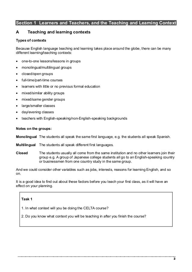 celta skills related task We can make our writing skills lessons much more interesting and relevant by providing students with the tools they need in real life this would mean focusing on tasks such as writing emails, tweets, application forms, short messages or an amazon review.