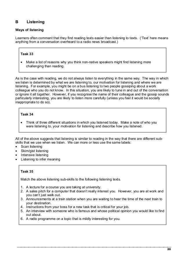 celta task Language awareness tasks that all applicants complete at interview) the ih  dublin celta course is also recognised by accreditation and coordination of.