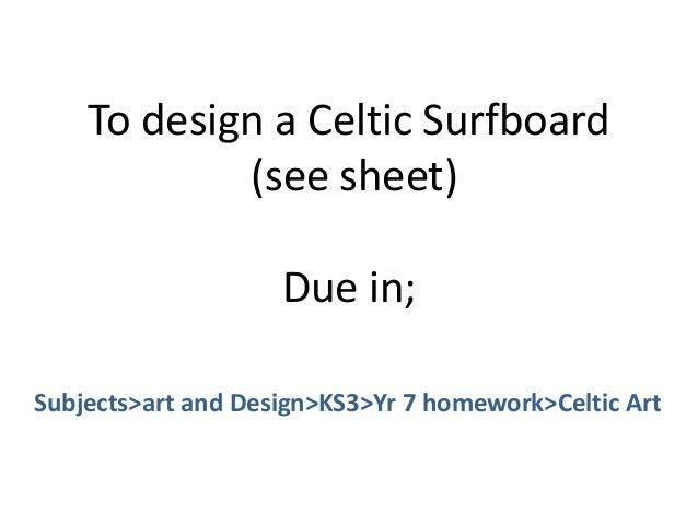 Celtic homework help