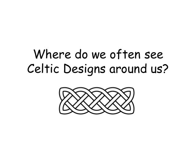 Celtic design powerpoint