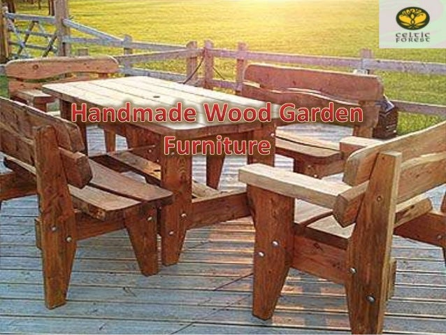 Handmade Wood Garden Furniture  Available in solid Welsh Oak the Pembroke  rustic garden bench is perfect for any beautiful garden. Handmade Wood Garden Furniture