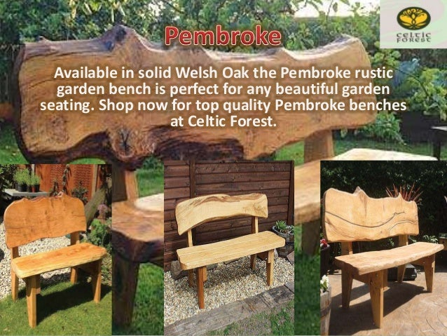 3. Handmade Wood Garden Furniture