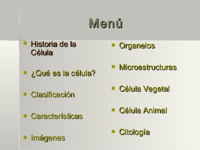 La Celula Slide 3
