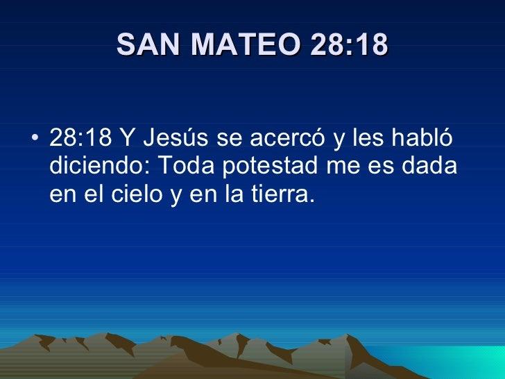 Resultado de imagen para Mateo 28,18