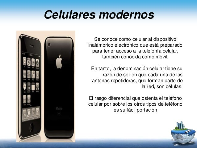 Celulares modernos for Moviles modernos